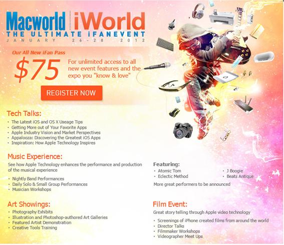 Evento Macworld